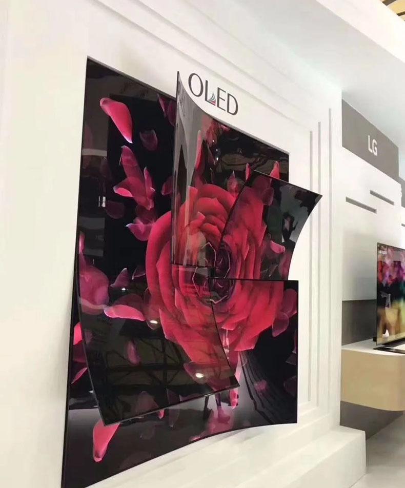 OLED柔性屏拼接大屏显示技术特点介绍