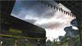 利亚德6000㎡巨型LED天幕重现《远去的恐龙》