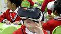 黑晶互动VR超级教室走进青岛枣山小学——建立AR/VR智慧教研中心