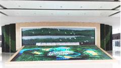 """90块大尺寸东方中原Donview液晶屏""""拼接""""出天津中新生态城风采"""