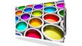 科视Christie Apex 0.9mm间距LED拼墙展现绚丽色彩