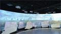 27台明基双灯工程投影机投射紫竹国家高新区发展硕果