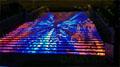 大元楼梯LED显示屏 炫彩绽放福州奥莱时代广场开业典礼
