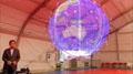 """0.88米""""LED球形屏""""屏仅3.4公斤还能飞"""