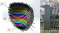 万达乐园LED飞行影院球幕首次局部测试