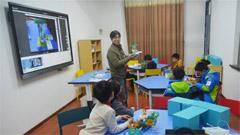 """小学中的""""KOOV机器人教室""""让你惊艳"""