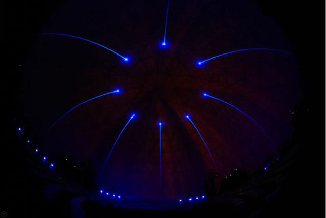 华为畅享360度穹顶投影发布会沉浸式体验