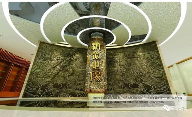 济南济阳区文体中心博物馆基本装修完成
