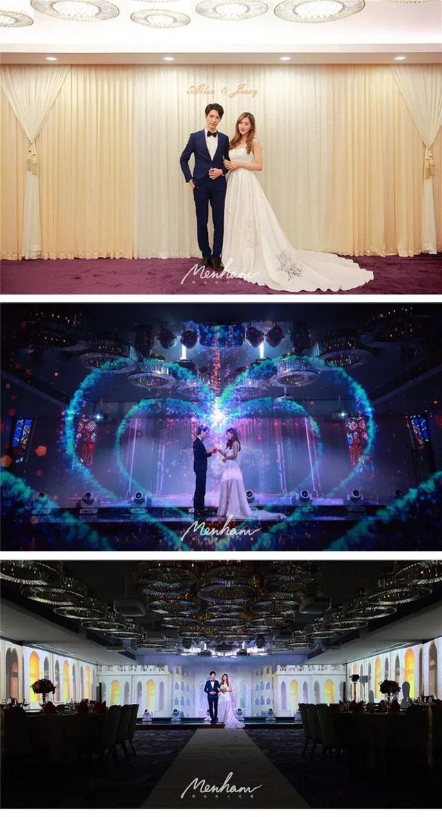 全息婚礼案例:走遍香港竟有如此独具魅力的全息婚礼!