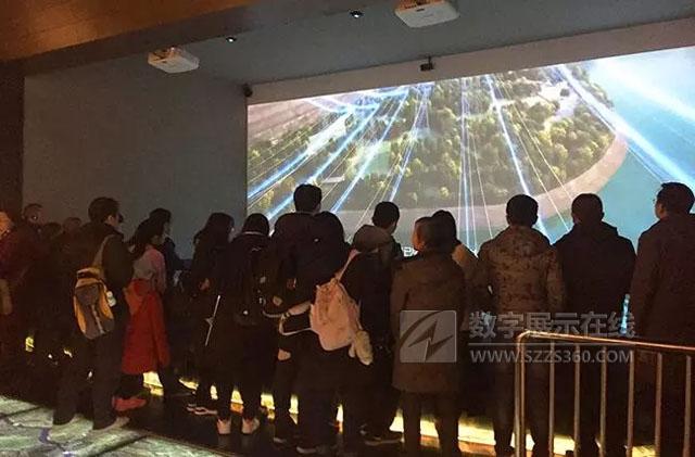 重庆中国博物馆三峡数字展厅璀璨亮相