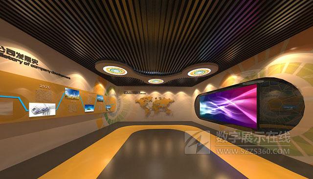 关于企业文化展厅设计的三个特性分析