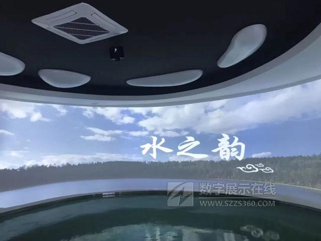 ITAV智能集中控制系统助力阿尔山水知道展厅