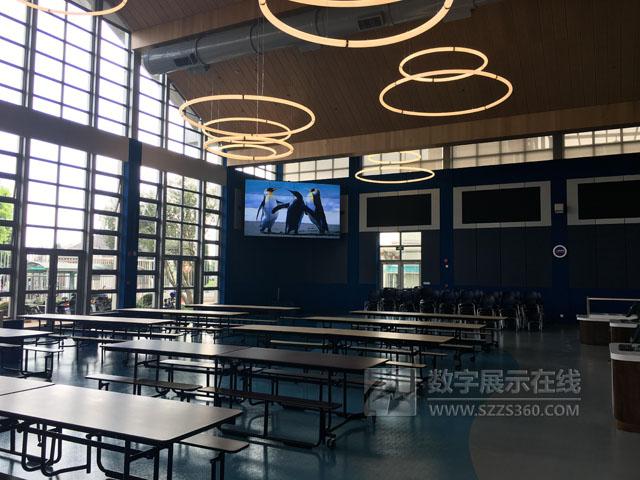 NEC显示器屏霸美国校园  全面推动校园信息化建设