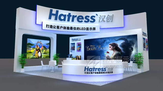 北京Infocomm展会来汉创看不一样的小间距显示屏