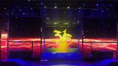 2018央视3.15晚会魔幻冰屏让舞台更透明