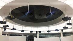 建业显示助力全国首家建筑科技文化馆打造54米大型环幕