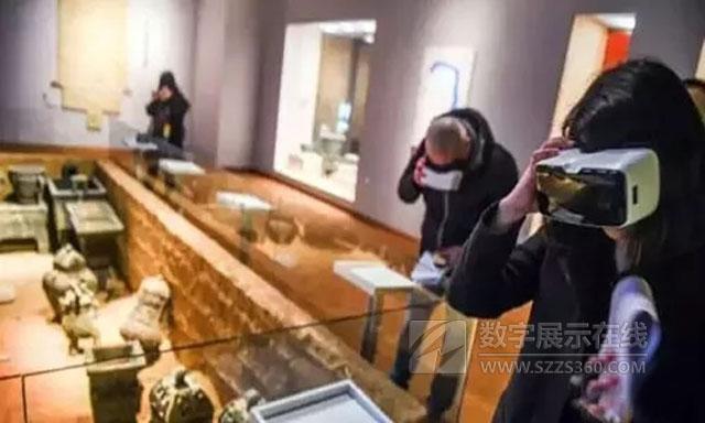 虚拟现实博物馆带你领略古今中外文化