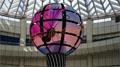 观天之眼 雷曼·康硕展LED伸缩球形屏伴你遨游太空