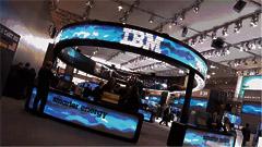 用iPad控制的LED环型屏带你进入智能IBM