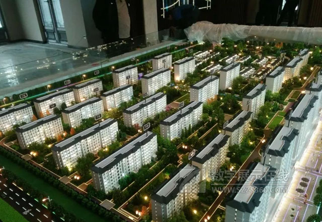 美尚数字科技打造恒信·绿城春风江南地产模型