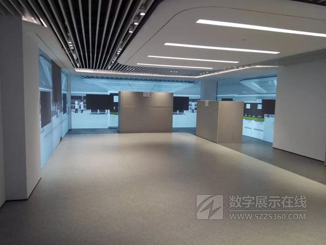 """松下工程投影机参与打造雅培客户体验中心""""虚拟实验室""""。"""