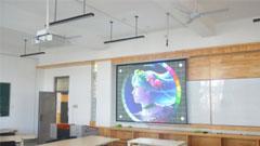 索尼P系列助西安建筑科技大学多媒体教学
