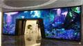 将近60块高清液晶拼接屏搭起了通往完美世界的窗口