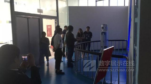 科学梦创展承建的雅安市荥经县科技馆顺利通过验收