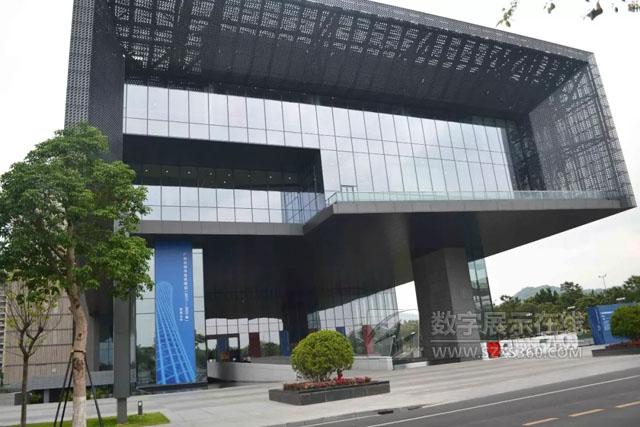 广州城市规划展览中心液晶拼接案例欣赏
