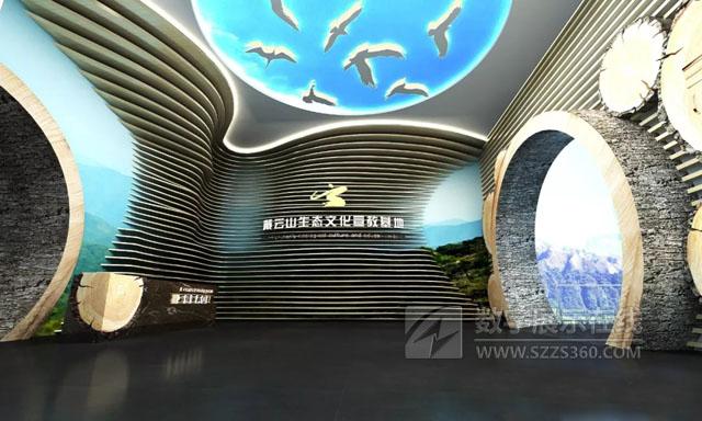 厦门风云中标戴云山生态博物馆设计施工