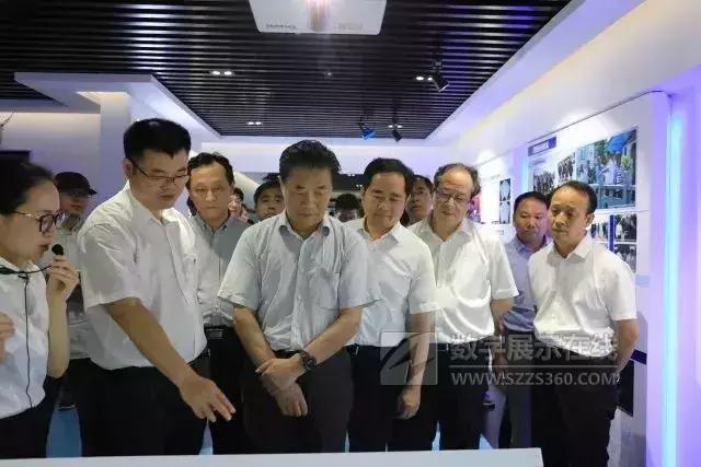 浙江省第一个河长制展示馆在长兴县开馆