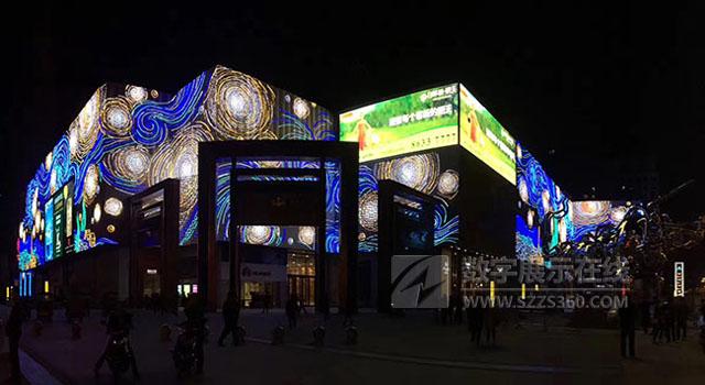 创意LED显示屏,LED生产企业实力的彰显