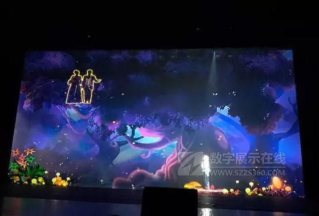 全息舞台闪耀北京剧院 鸿合工程产品团队携手NEC赋能新文娱