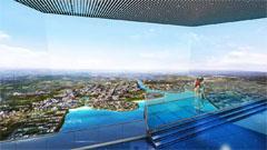 西海岸新区规划展览馆LEDCAVE数字沙盘