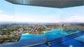 金东创意打造西海岸新区规划展览馆LED CAVE沉浸式数字沙盘
