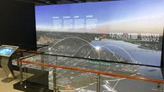 内蒙古乌海城市规划展示馆3DGIS数字沙盘