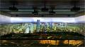 丽讯打造广州某企业展厅折叠式沉浸系统