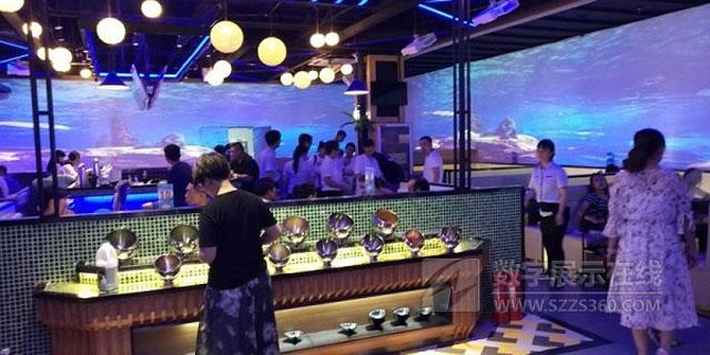 斑鱼湾—创意投影海洋主题餐厅落户河北