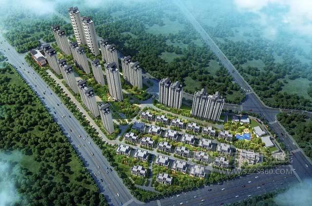 房地产沙盘案例:赛野打造广西南宁市上林碧桂园沙盘模型