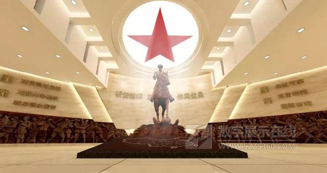 原中国人民武装警察某部(贺龙特务团)旅史馆设计方案