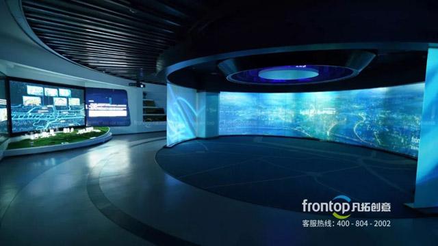 大空间数字展馆助力重庆总部城发挥渝中新核优势