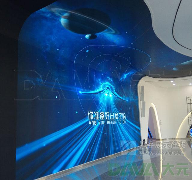 大元创意打造黄河科技大学创意led显示屏