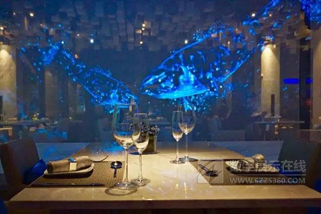 安福县惊现3D全息投影餐厅,仿若置身海洋与梦境