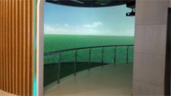 索诺克Sonnoc激光工程投影机进驻山东小麦馆精彩展示小麦产业发展史
