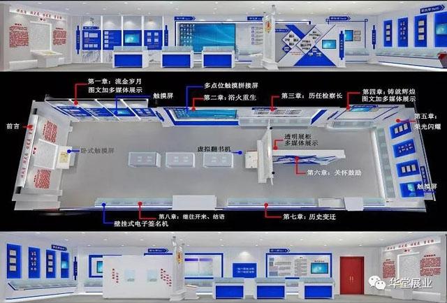 华堂科技中标沧州市人民检察院院史馆多媒体工程