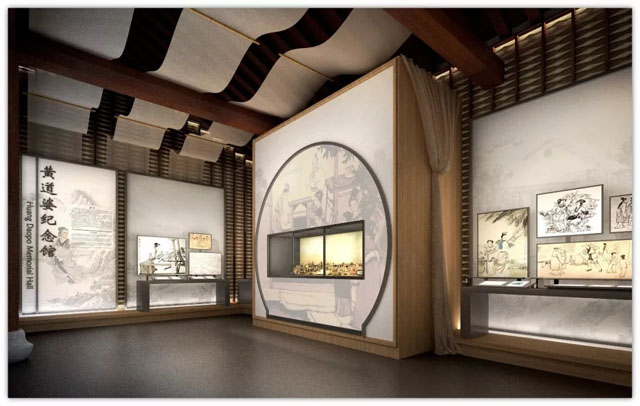 上海华成实业中标黄道婆纪念馆布展服务项目