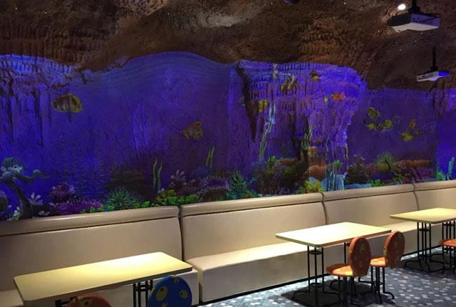 数字餐厅案例:亚特兰蒂斯海底餐厅――沉浸式的写实体验