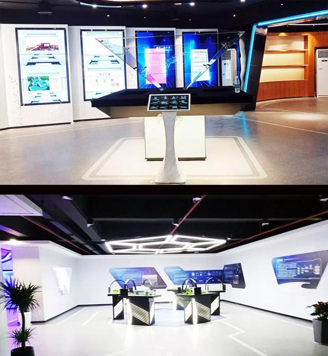 湖南六建荣耀展厅中控系统