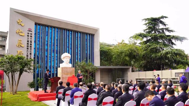 企业展厅设计案例:传承铁道兵精神的纽带|汉江重工文化展厅顺利落成
