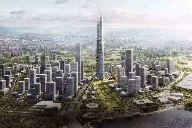 规划馆设计案例:风云出品|中国第一高楼规划馆设计制作